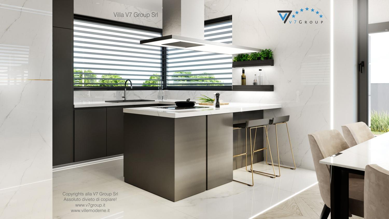 Immagine Villa V64 (progetto originale) - interno 8 - cucina