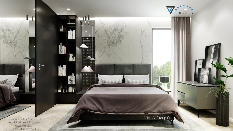 Immagine Villa V64 (progetto originale) - interno 9 - camera matrimoniale