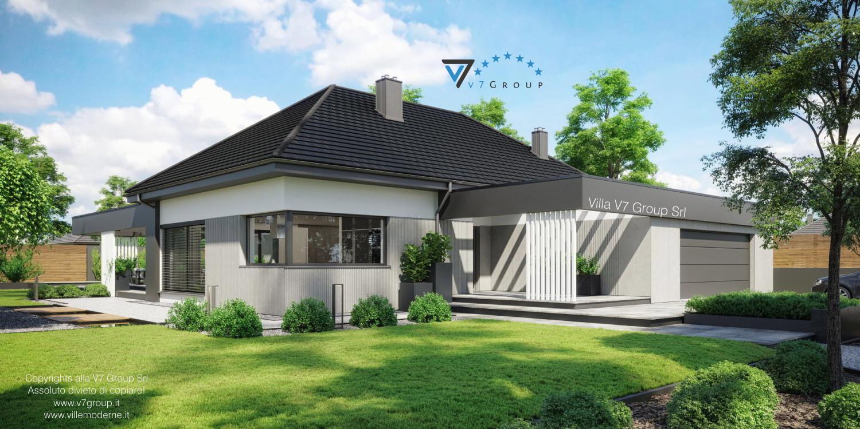 Immagine Villa V68 - vista frontale laterale grande
