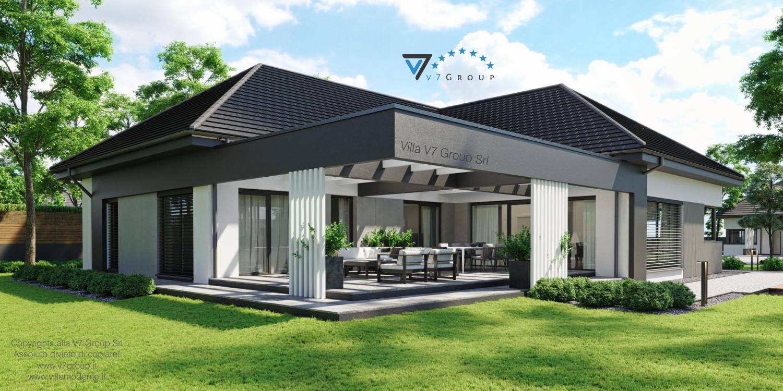 Immagine Villa V68 - vista giardino grande