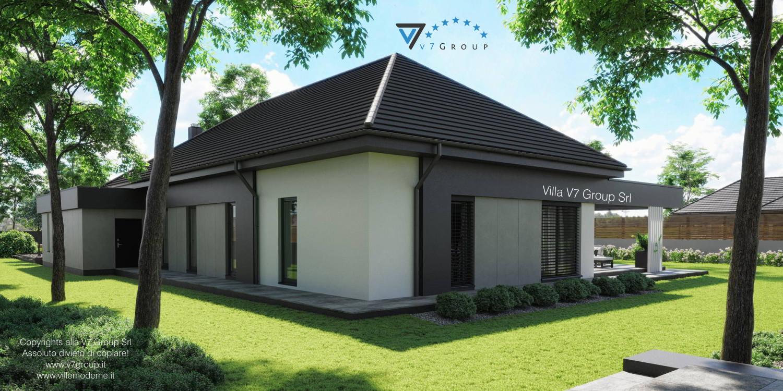Immagine Villa V68 - vista laterale grande