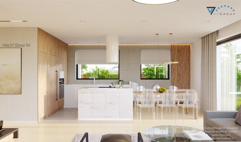 Immagine Villa V48 - interno 1 - cucina e sala da pranzo grande
