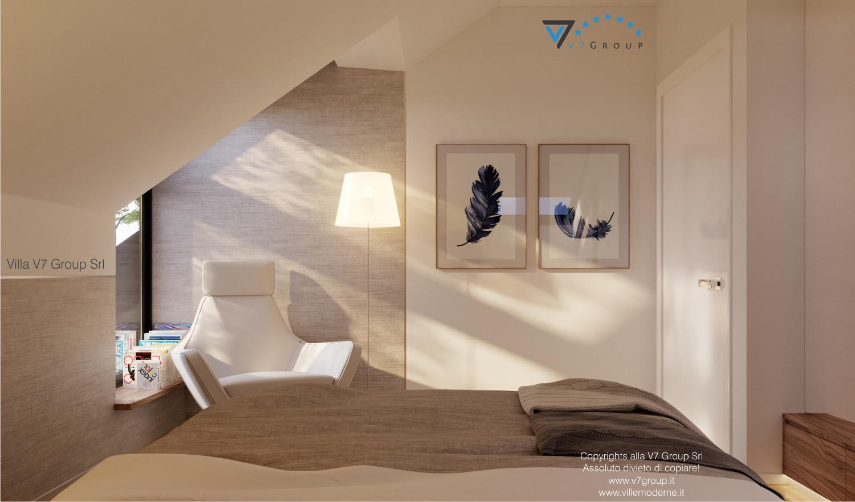 Immagine Villa V48 - interno 10 - sistemazione interna della camera matrimoniale grande