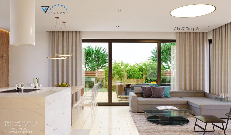 Immagine Villa V48 - interno 2 - soggiorno e sala da pranzo grande