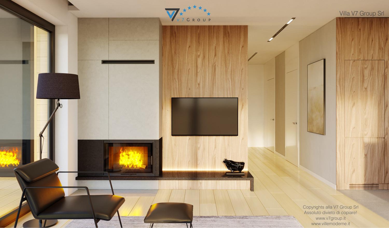 Immagine Villa V48 - interno 4 - soggiorno e corridoio grande