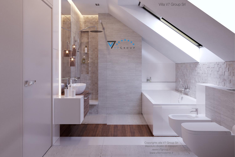 Immagine Villa V48 - interno 6 - lavandini e vasca grande