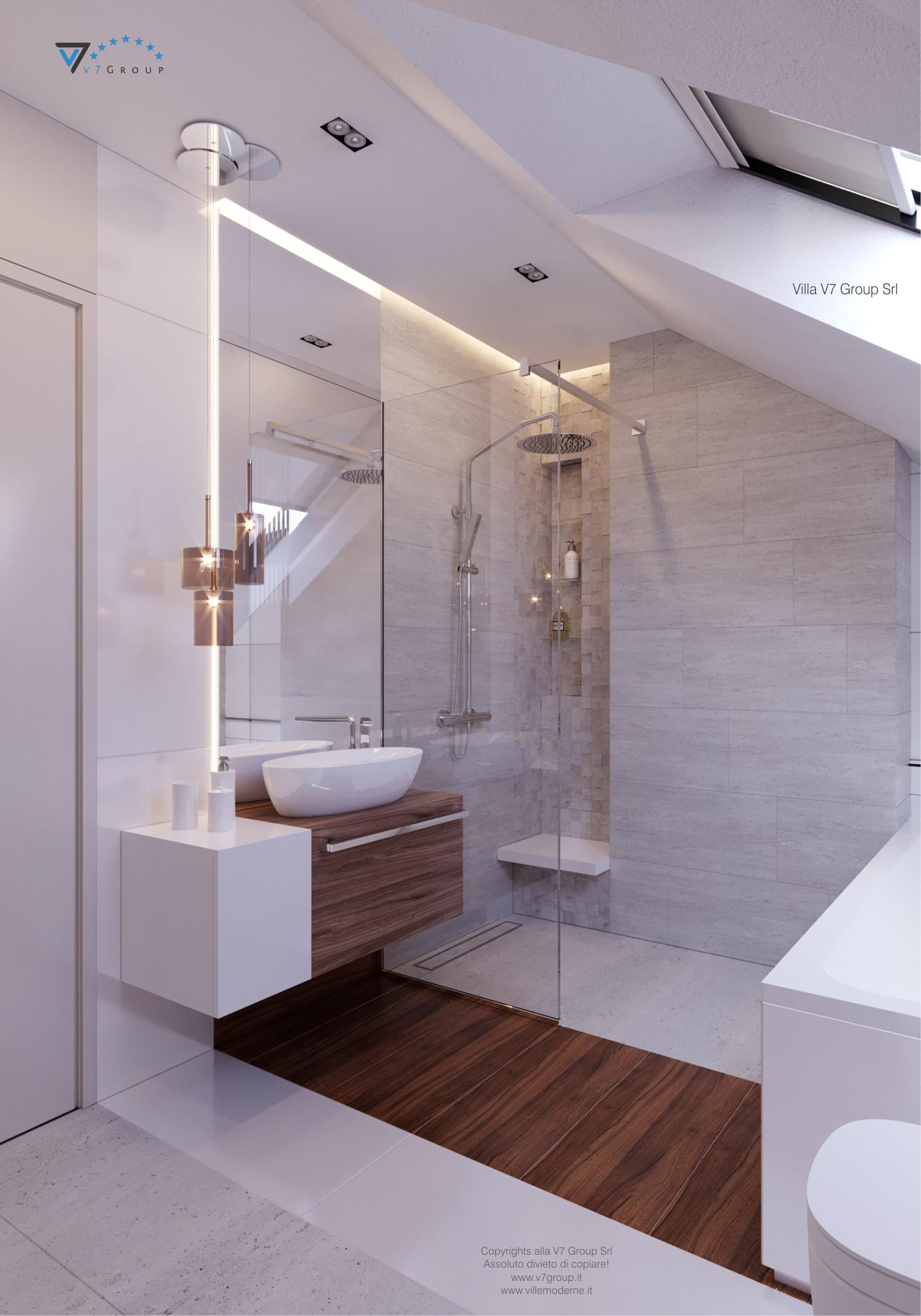 Immagine Villa V48 - interno 7 - lavandini e doccia grande