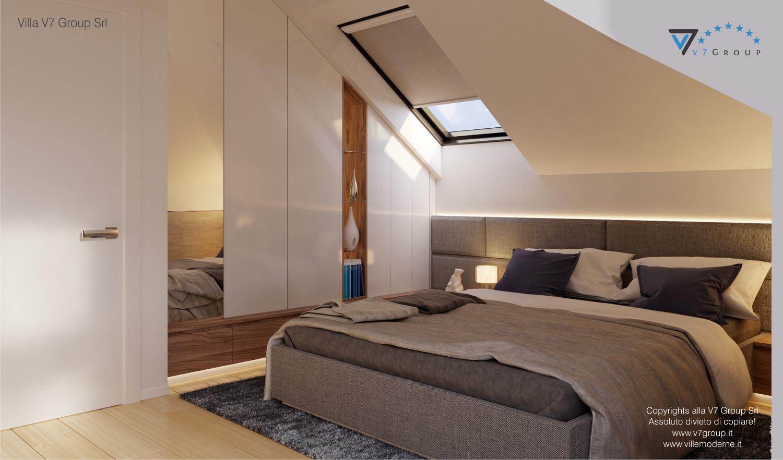 Immagine Villa V48 - interno 9 - letto matrimoniale grande
