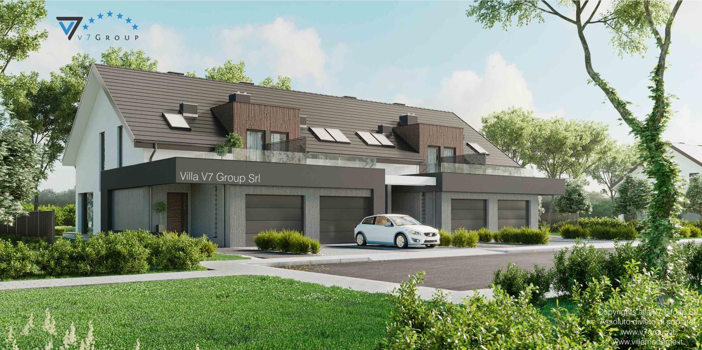 Immagine Villa V61 (B2) - aggiornamento variante - vista frontale