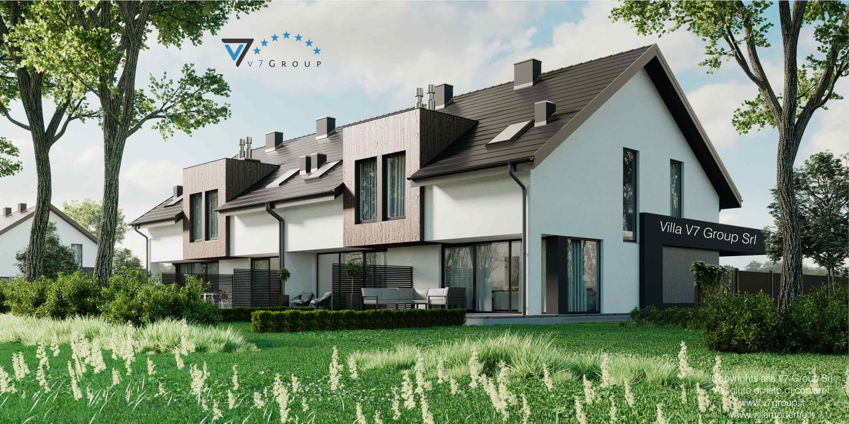 Immagine Villa V61 (B2) - aggiornamento variante - vista laterale