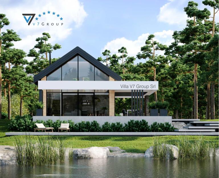 Immagine Villa V64 - vista giardino piccola