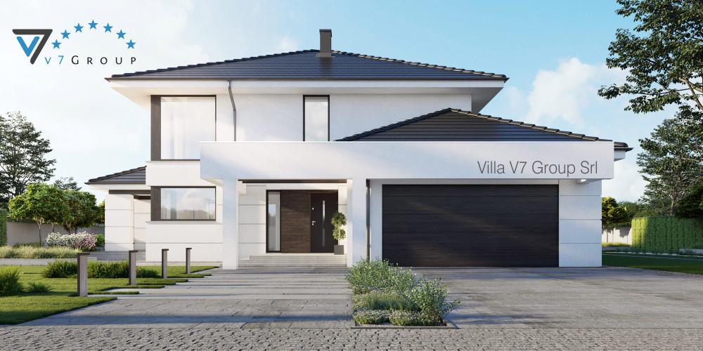 Immagine Villa V66 (progetto originale) - presentazione della Villa V64