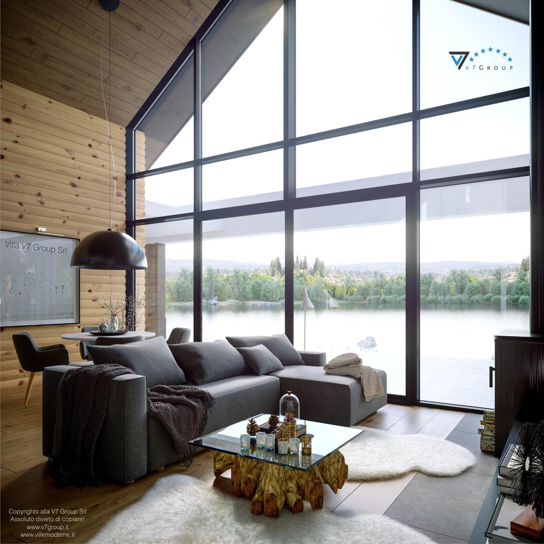 Immagine Villa V66 - interno 1 - vista soggiorno grande