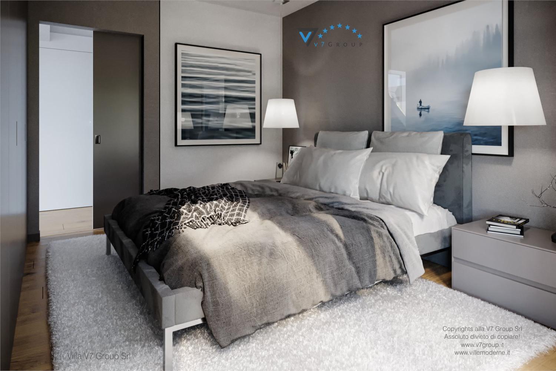 Immagine Villa V66 - interno 12 - il letto matrimoniale grande