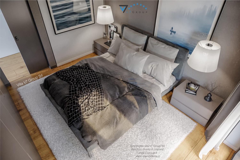 Immagine Villa V66 - interno 13 - vista camera matrimoniale dall'alto grande