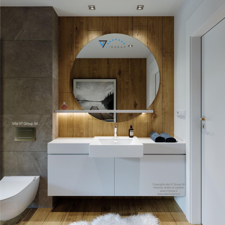 Immagine Villa V66 - interno 14 - lo specchio nel bagno