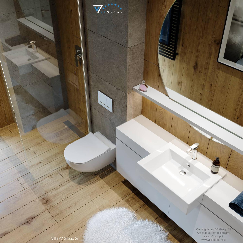 Immagine Villa V66 - interno 17 - vista bagno dall'alto grande
