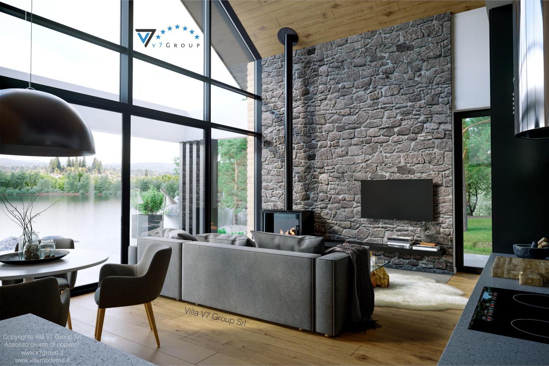 Immagine Villa V66 - interno 3 - vista soggiorno diretta grande