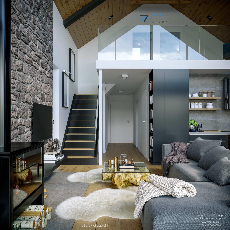 Immagine Villa V66 - interno 6 - vista corridoio grande