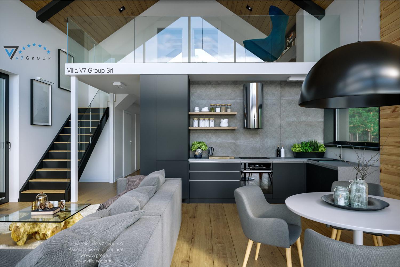 Immagine Villa V66 - interno 8 - vista cucina diretta grande
