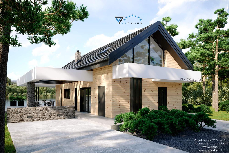 Immagine Villa V66 - vista entrata frontale grande