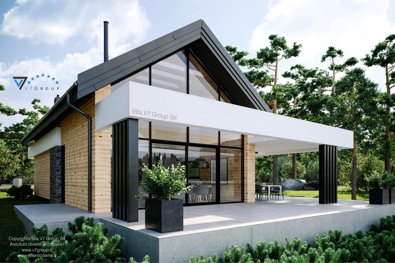 Immagine Villa V66 - vista terrazzo esterno grande