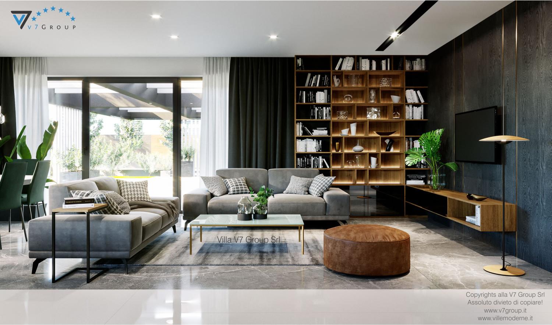 Immagine Villa V68 - interno 1 - vista soggiorno grande