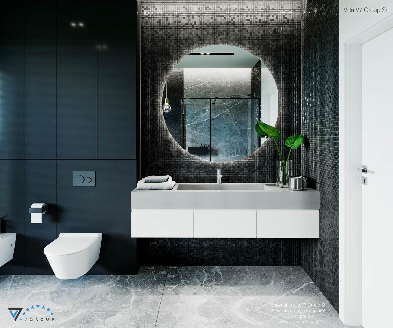 Immagine Villa V68 - interno 12 - lo specchio in bagno