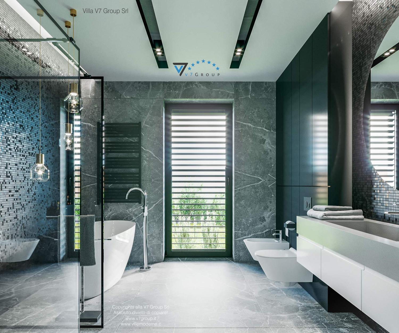 Immagine Villa V68 - interno 13 - la porta balcone in bagno