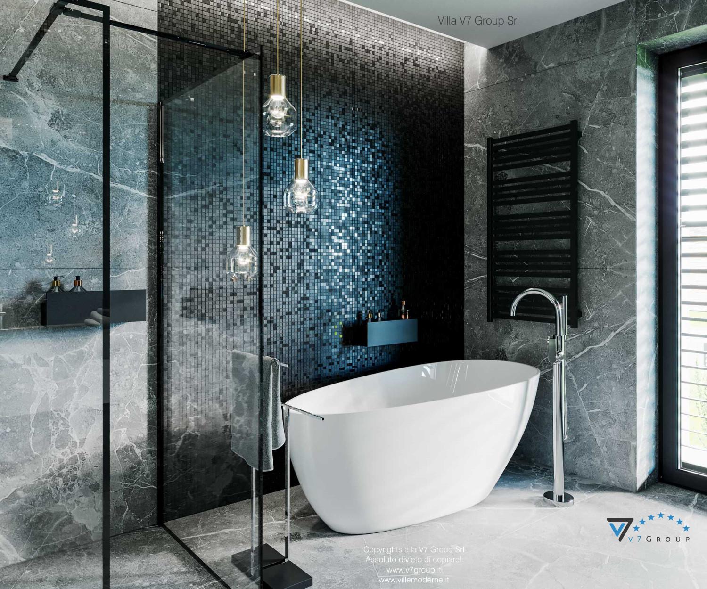 Immagine Villa V68 - interno 14 - la vasca da bagno in bagno