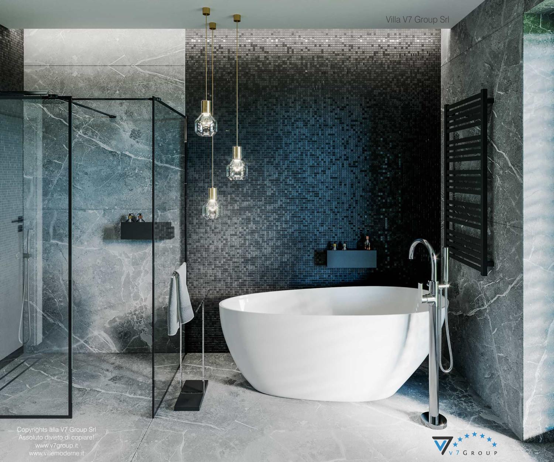 Immagine Villa V68 - interno 15 - la vasca da bagno e la doccia grande
