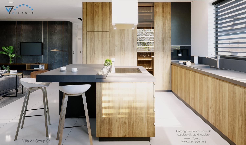 Immagine Villa V68 - interno 7 - vista cucina e corridoio grande