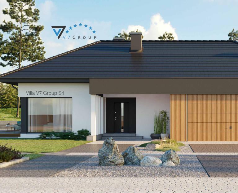 Immagine Villa V69 (progetto originale) - la parte frontale