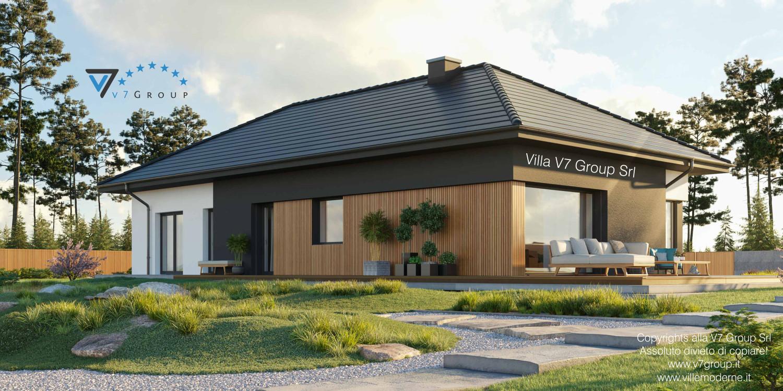Immagine Villa V69 - vista terrazzo esterno grande
