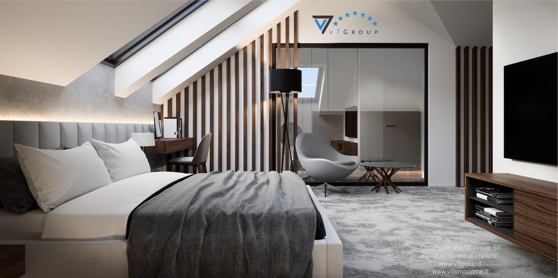 Immagine Villa V53 - interno 10 - il letto matrimoniale grande