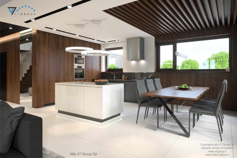 Immagine Villa V53 - interno 5 - sala da pranzo e cucina grande