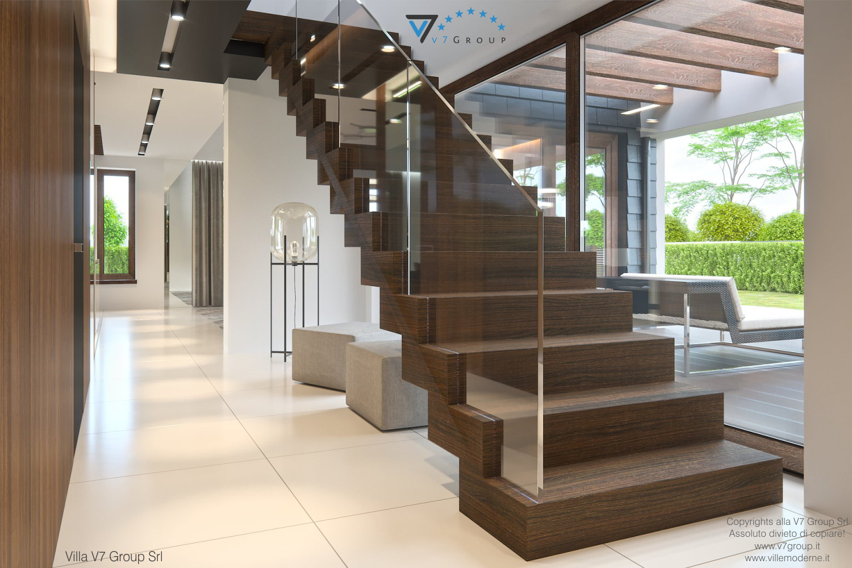 Immagine Villa V53 - interno 7 - corridoio e scale grandi
