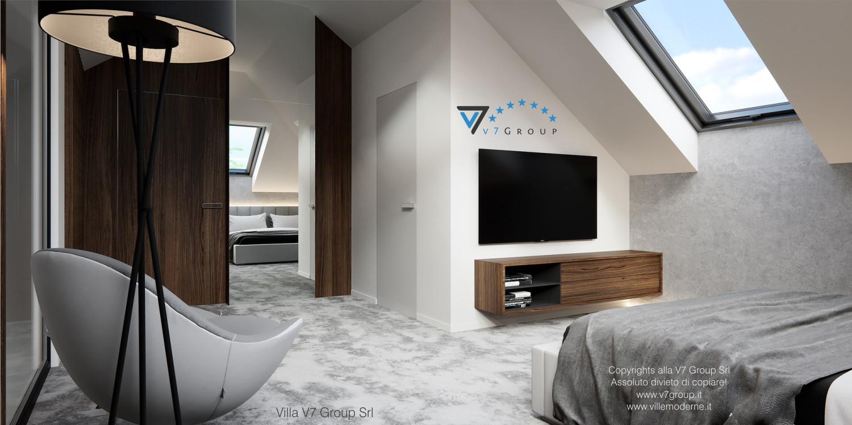 Immagine Villa V53 - interno 9 - sistemazione della camera matrimoniale grande
