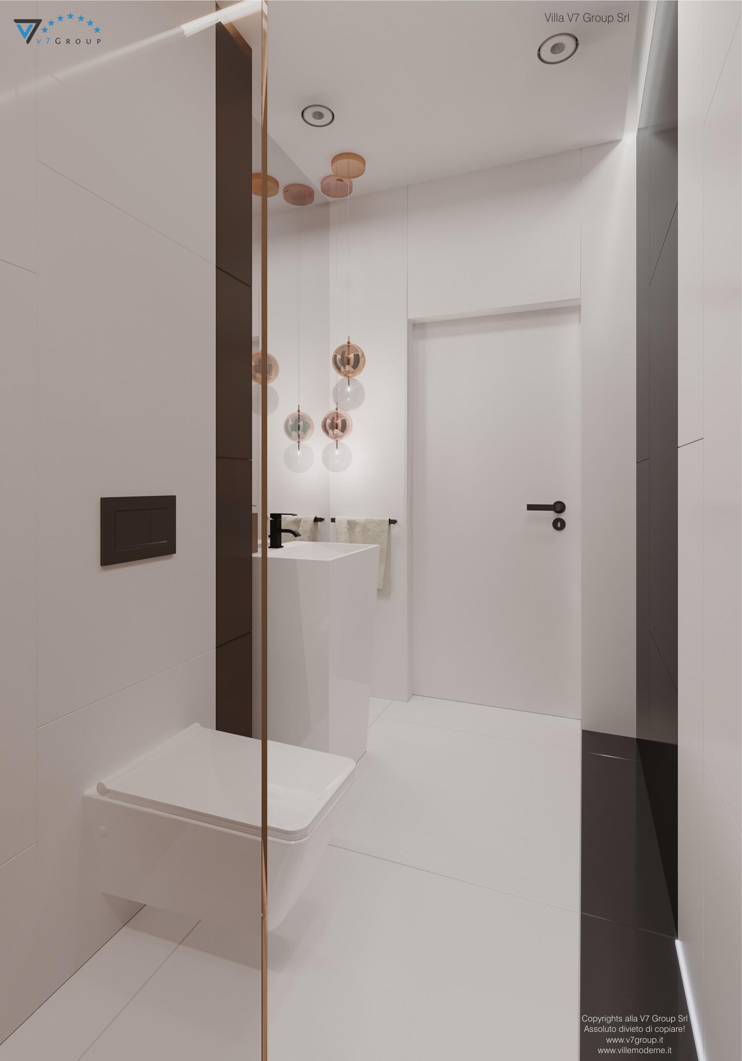 Immagine Villa V56 - interno 10 - la porta nel bagno grande