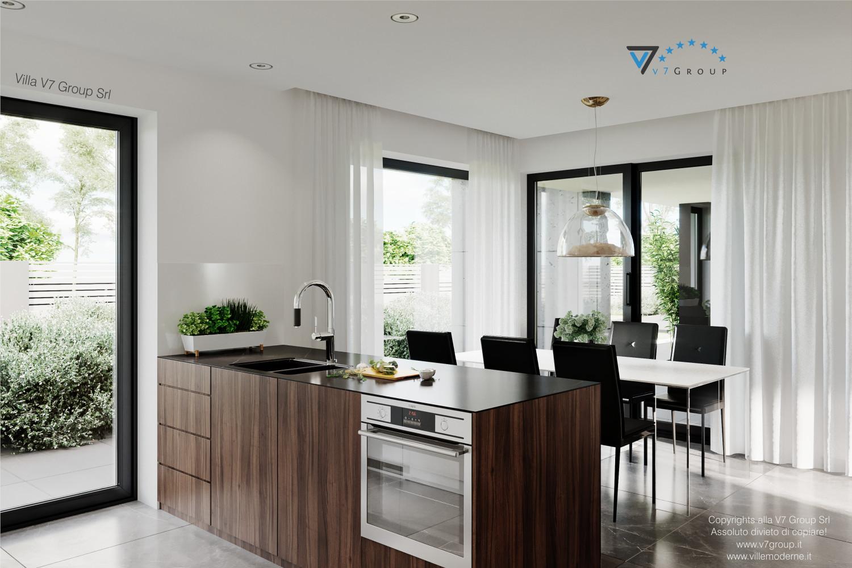 Immagine Villa V56 - interno 2 - cucina e sala da pranzo grande