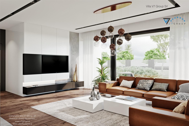 Immagine Villa V56 - interno 4 - la tv nel soggiorno grande