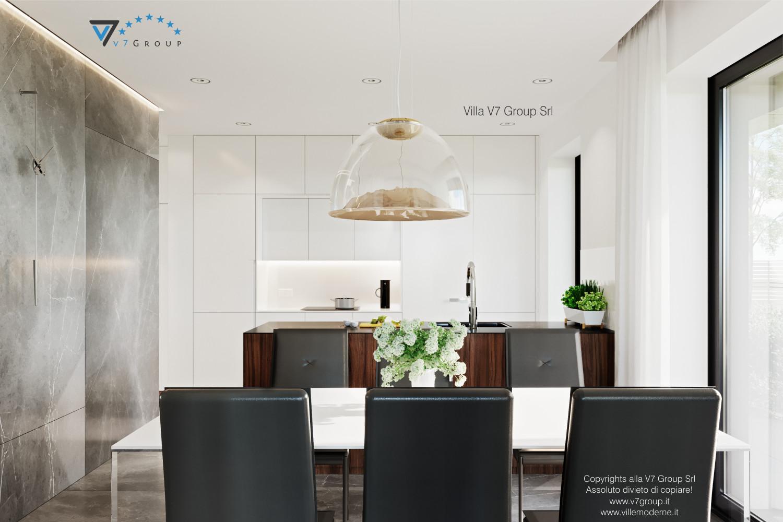 Immagine Villa V56 - interno 5 - la sala da pranzo grande