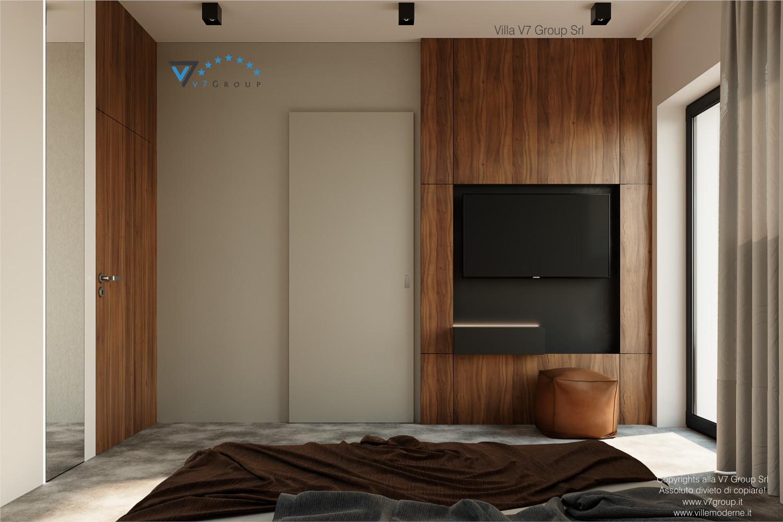 Immagine Villa V56 - interno 8 - la tv nella camera matrimoniale grande
