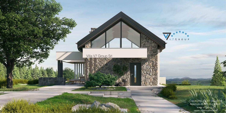 Immagine Villa V65 A - vista frontale grande