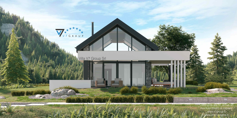 Immagine Villa V65 A - vista giardino grande