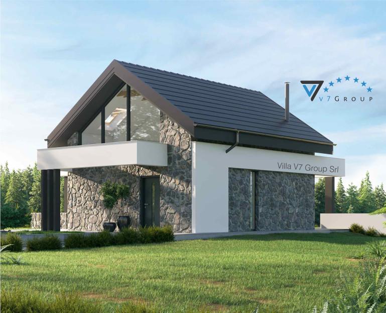 Immagine Villa V65 A - vista laterale piccola