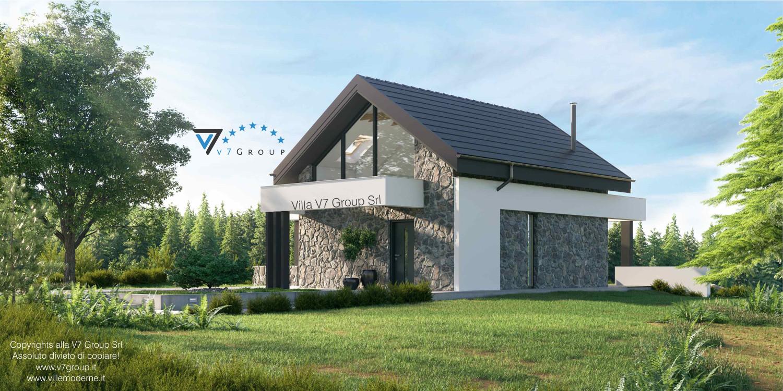 Immagine Villa V65 A - vista laterale