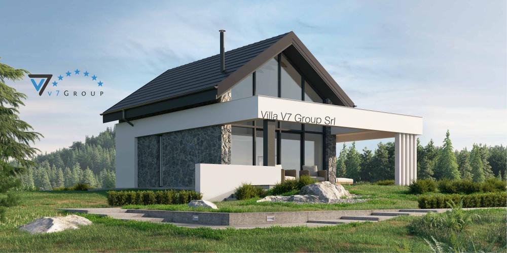 Immagine Villa V64 (progetto originale) - la presentazione della Villa V65 A