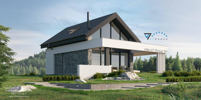 Immagine Villa V65 - vista del terrazzo esterno grande