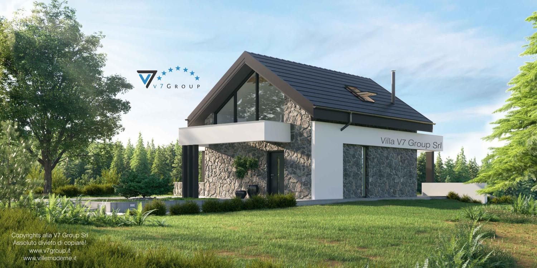 Immagine Villa V65 - vista laterale grande